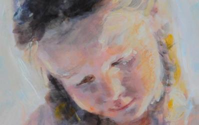 Opdracht - Klein portret meisje
